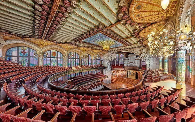 visites virtuelles pour salle de concerts