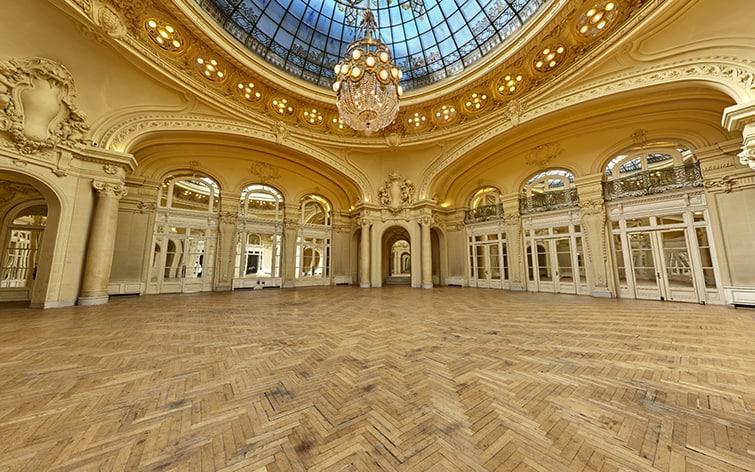 visite virtuelle pour la promotion du patrimoine architectural