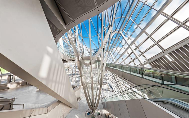 visite virtuelle du musée des Confluences
