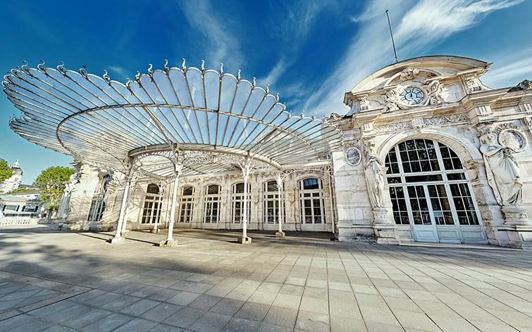 visite virtuelle du Palais des Congrès de Vichy
