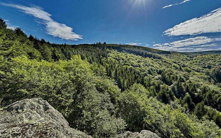 photographe pour visite virtuelle de sites naturels