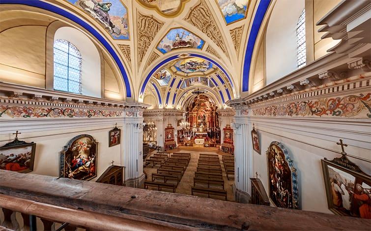 visite virtuelle pour la promotion du patrimoine artistique et religieux