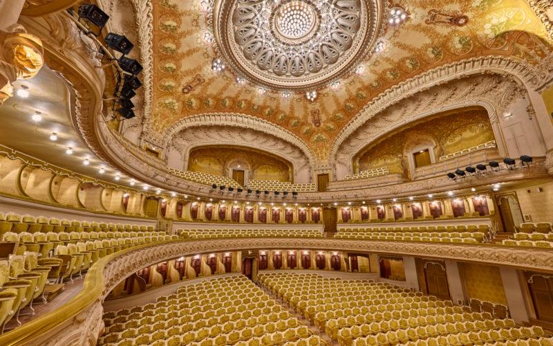 Photographe pour visite virtuelle d'un opéra