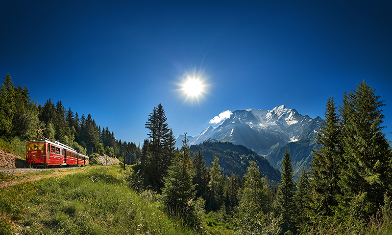visite virtuelle du mont Blanc